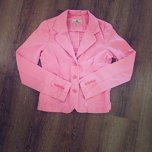 🌷Juicy Couture Pink Blazer Jacket 🌷